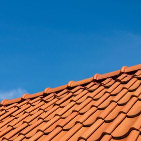 a new tiled roof