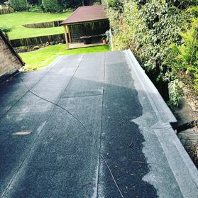 flat roof work